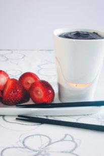 Chokolade fondue opskrift fra Bageglad