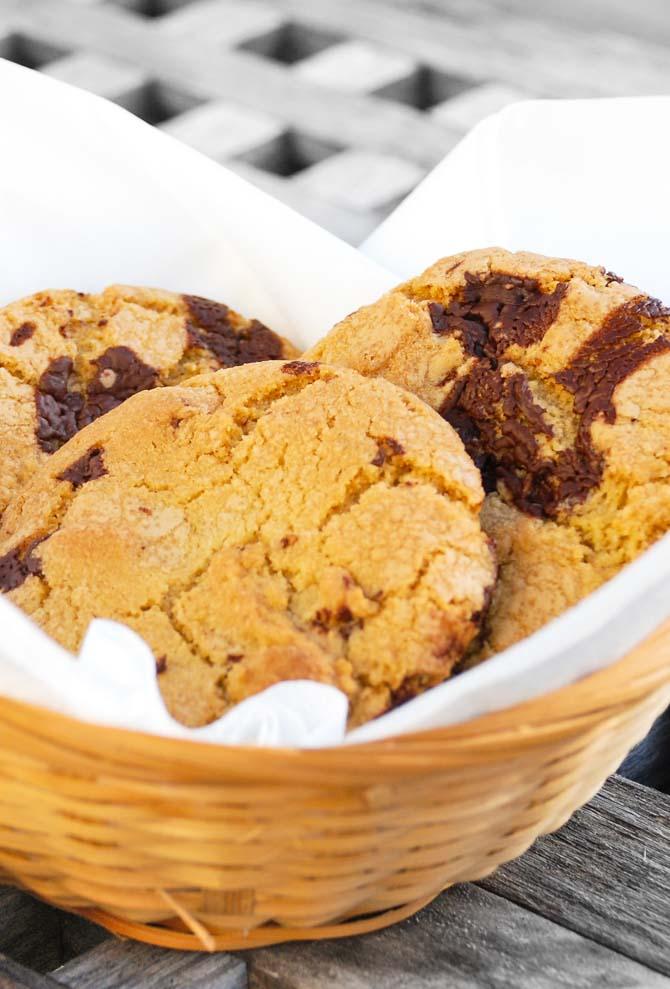 Chokolade cookies opskrift fra Bageglad