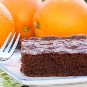 Chokoladekage med appelsin - Opskrift fra Bageglad