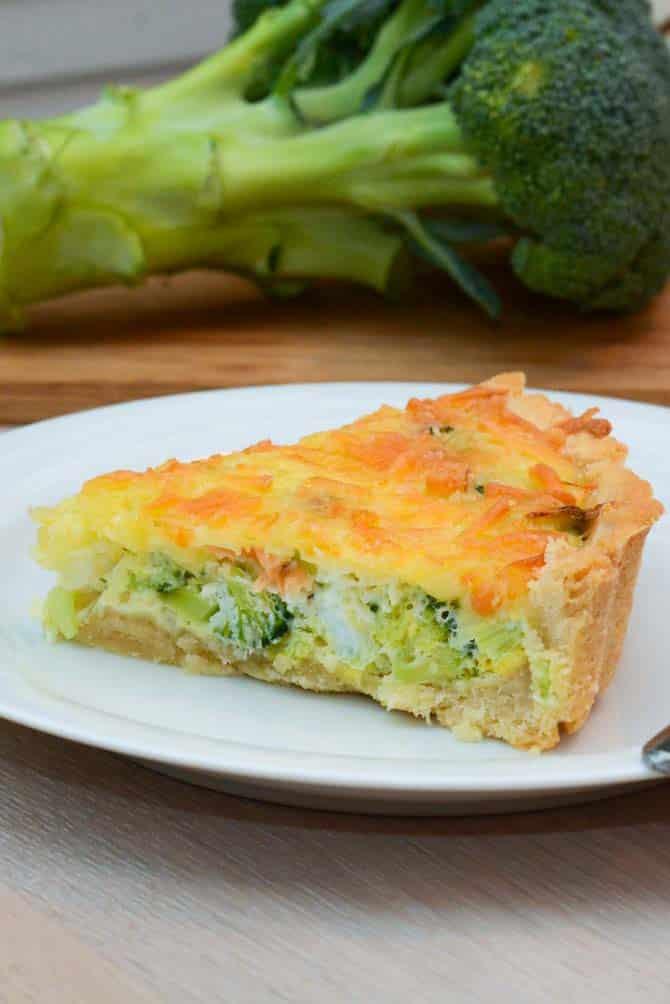 Laks og broccolitærte opskrift fra Bageglad