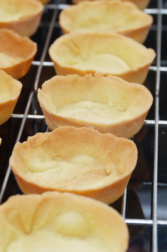 Mørdej tærtebunde fra Bageglad