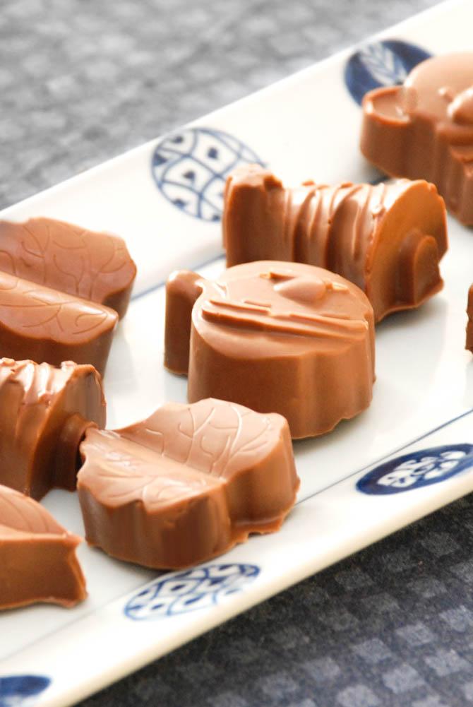 Chokolade med knas fra Bageglad