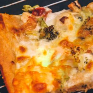 Spelt pizzadej