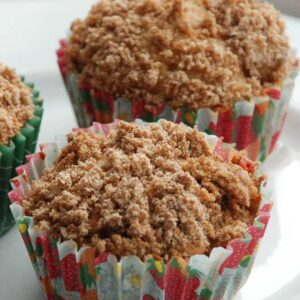 Æble- og kanel muffins fra Bageglad