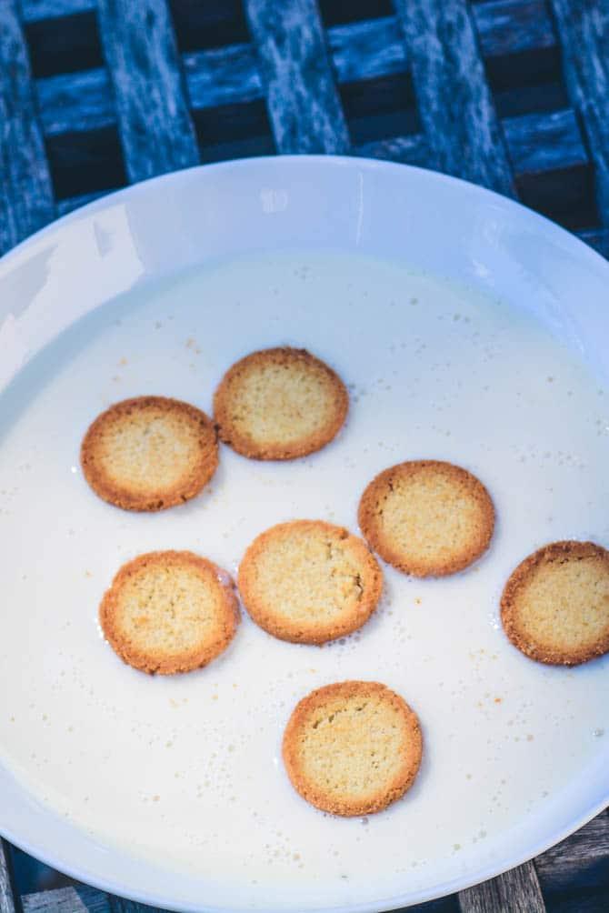 Laktosefri koldskål