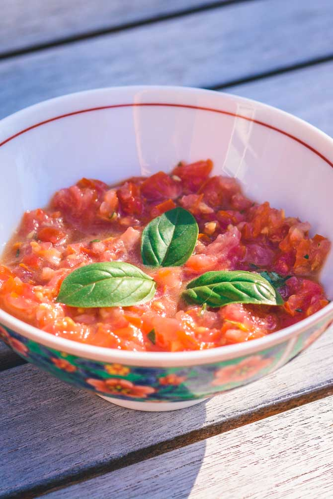 Tomat salsa opskrift fra Bageglad