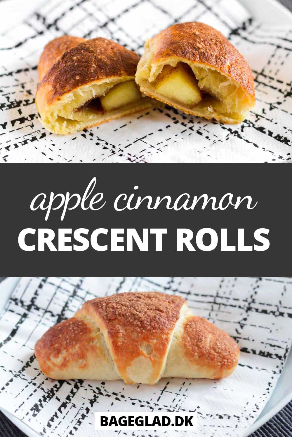 Apple cinnamon crescent rolls recipe