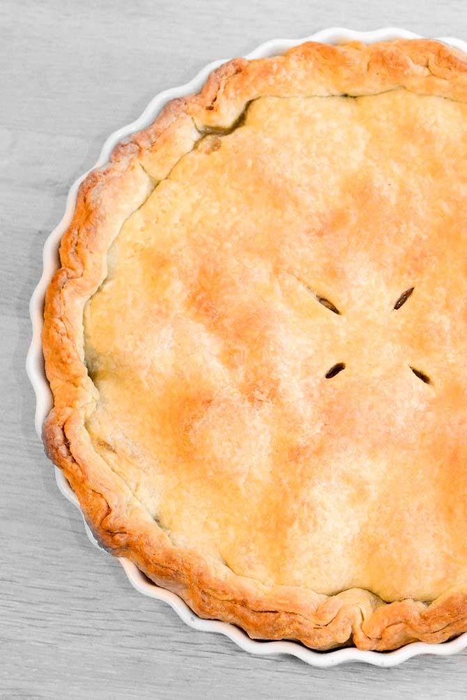 Amerikansk apple pie opskrift fra Bageglad