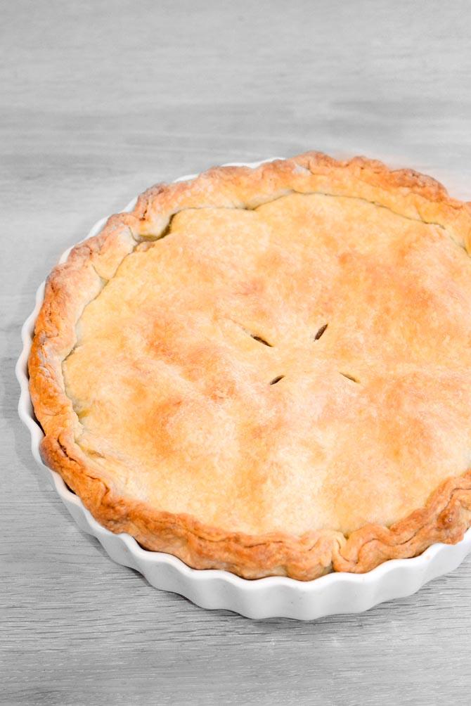 Apple pie opskrift fra Bageglad