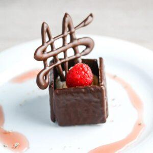After Eight is-dessert fra Bageglad