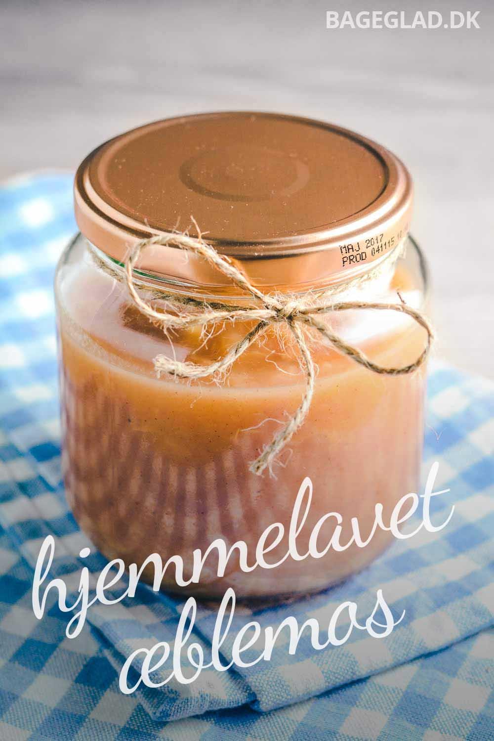 Æblemos opskrift med vanille og kanel