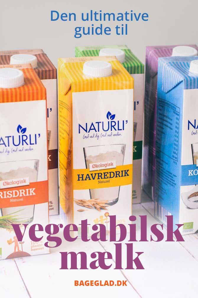 Guide til vegetabilsk mælk