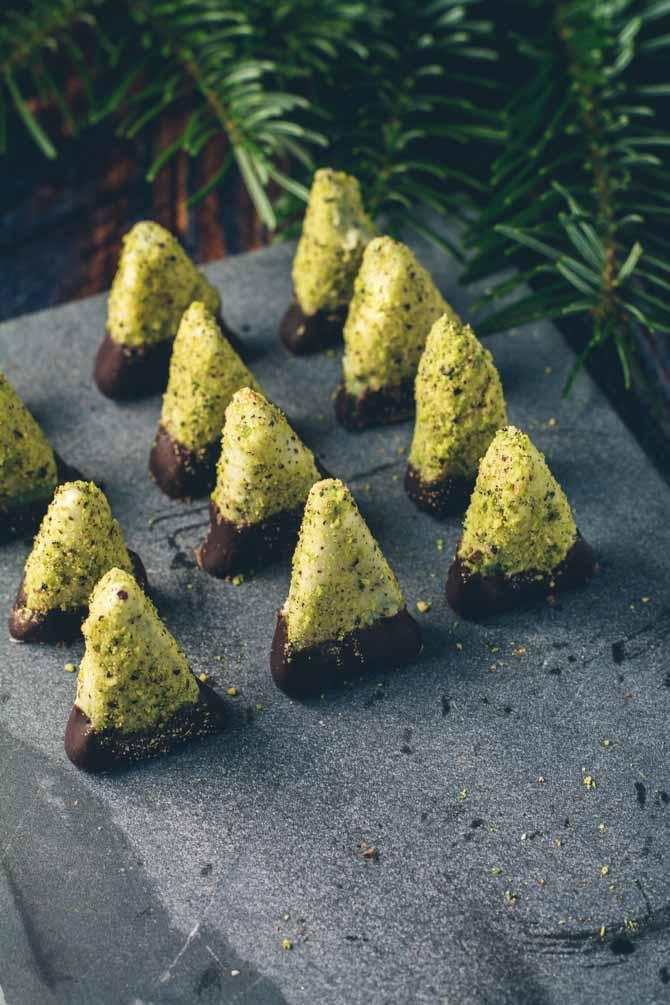 Juletræ konfekt opskrift fra Bageglad
