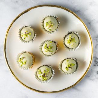 Lime marcipan konfekt