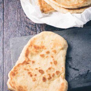 Naanbrød opskrift fra Bageglad