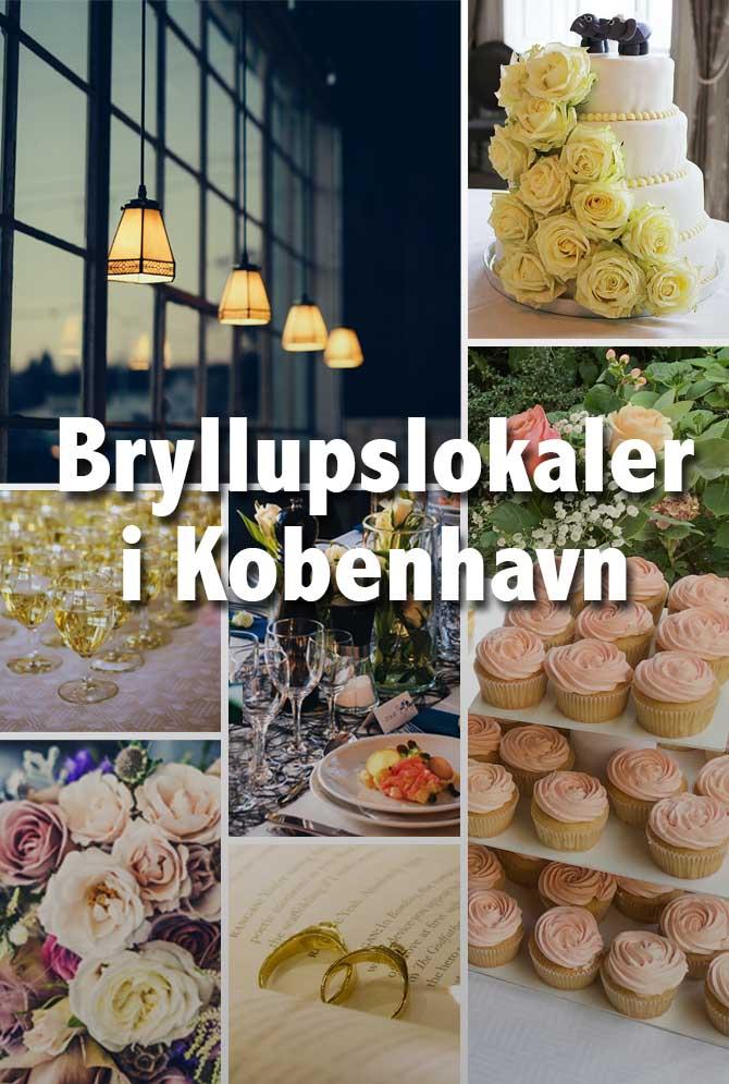 Bryllup i København, vores guide til lokaler