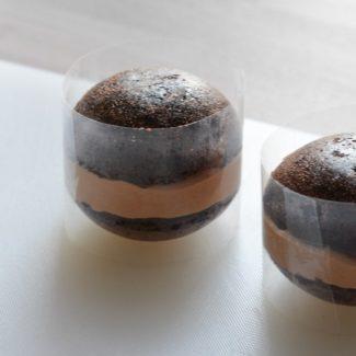 Chokoladekugle med mousse