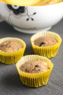 Sukkerfri bananmuffins fra Bageglad
