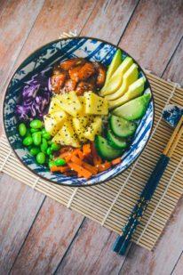 Poke bowl opskrift med laks