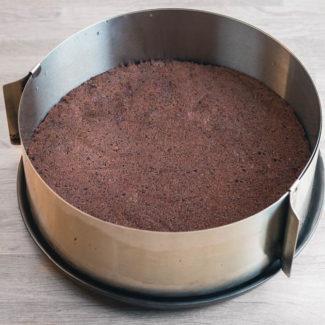 Chokolade lagkagebund