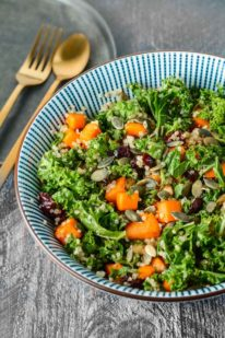 Efterårssalat med quinoa fra Bageglad