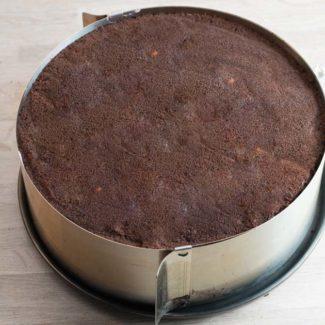 Chokolade lagkagebunde