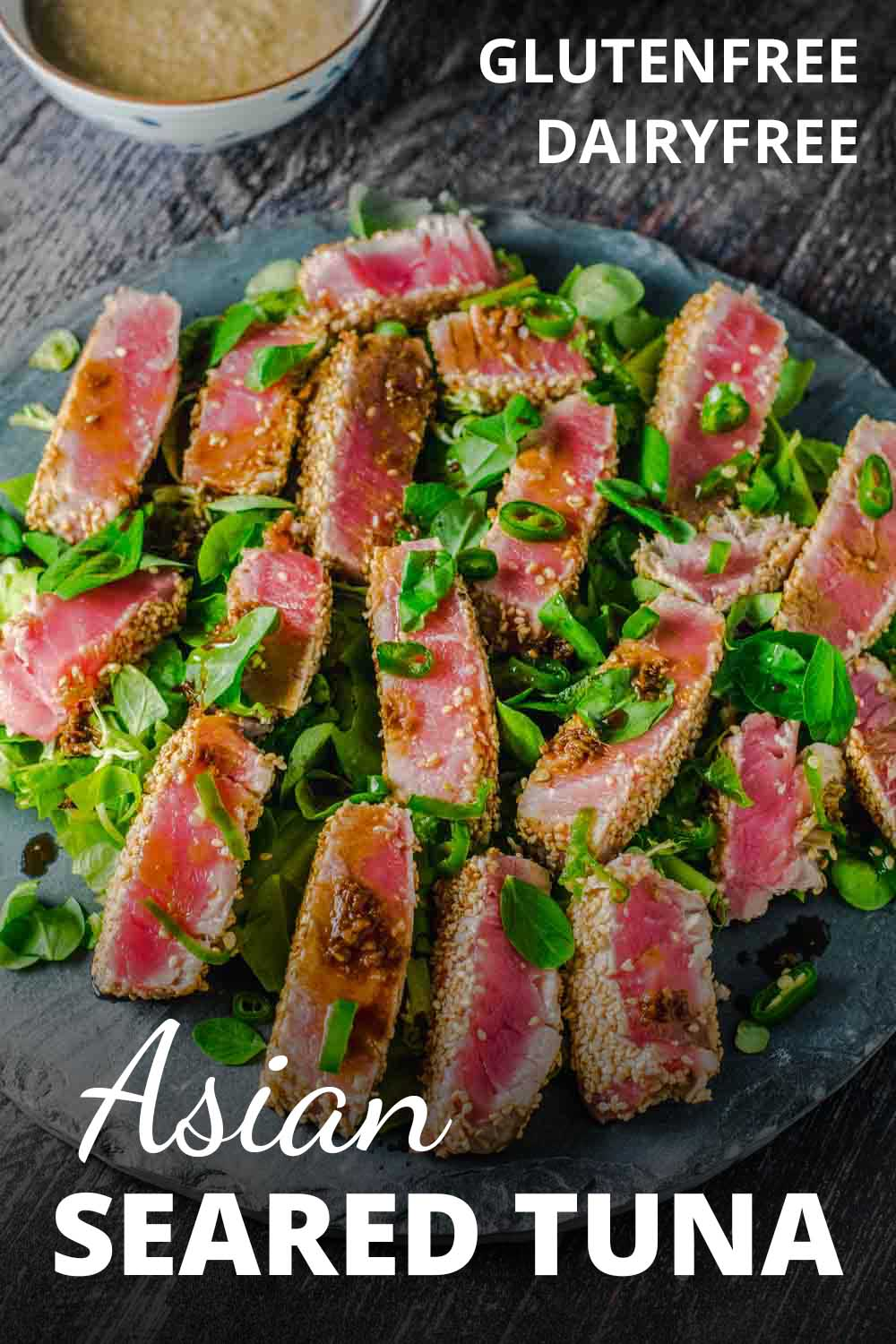 Asian seared tuna recipe