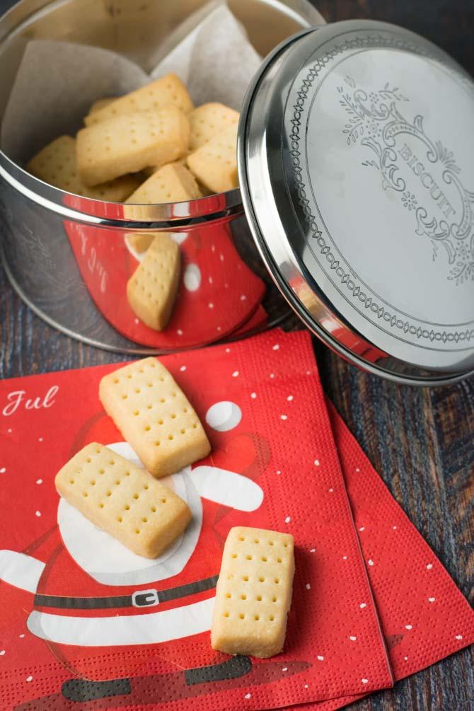 Shortbread småkage opskrift fra Bageglad
