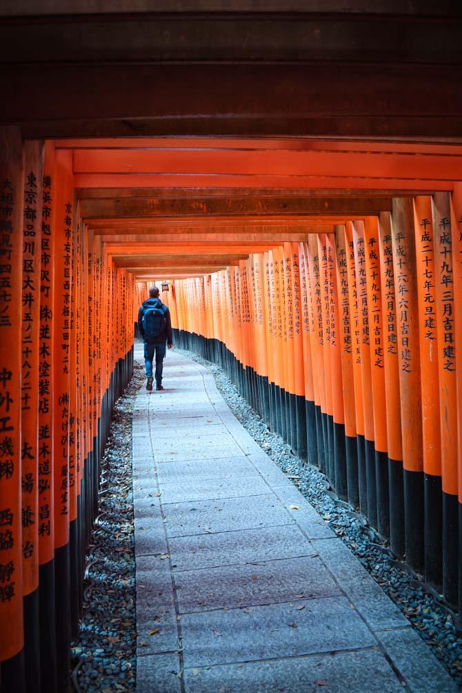 Fushimi Inari templet i Kyoto