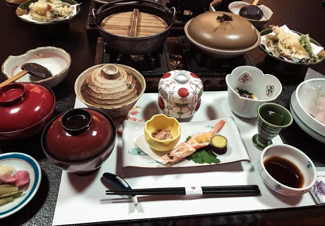 Japansk middag