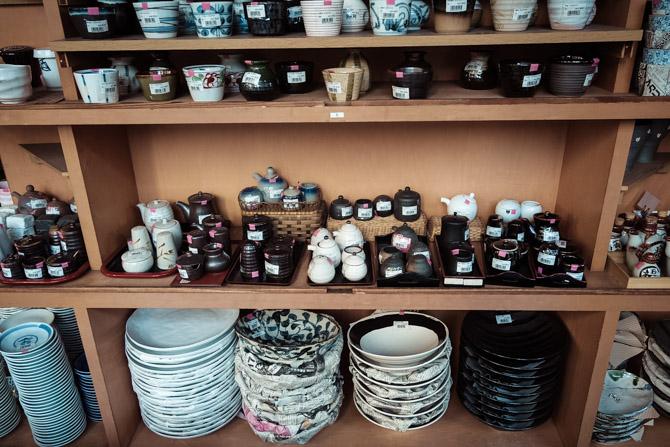 Japansk keramik og porcelæn