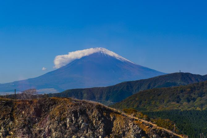 Mount Fuji i Japan