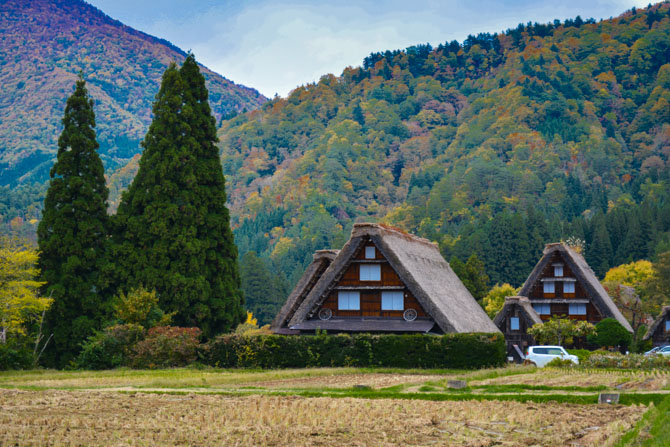 Shirakawa-go huse Japan