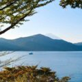 Lake Ashi udsigt over Hakone Japan