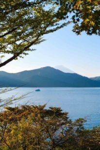 Lake Ashi udsigt over Hakone Japan