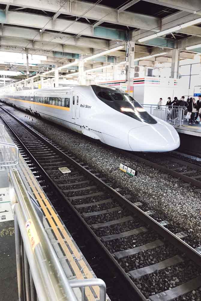 Shinkansen lyntog i Japan