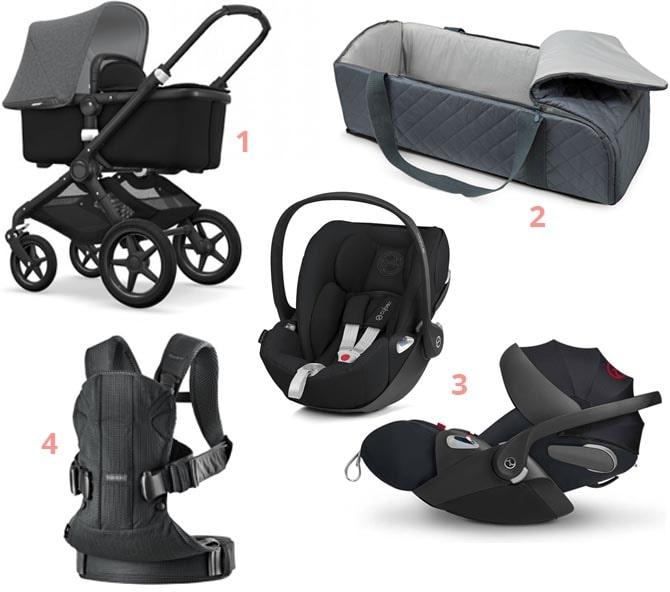 Babyudstyr til transport