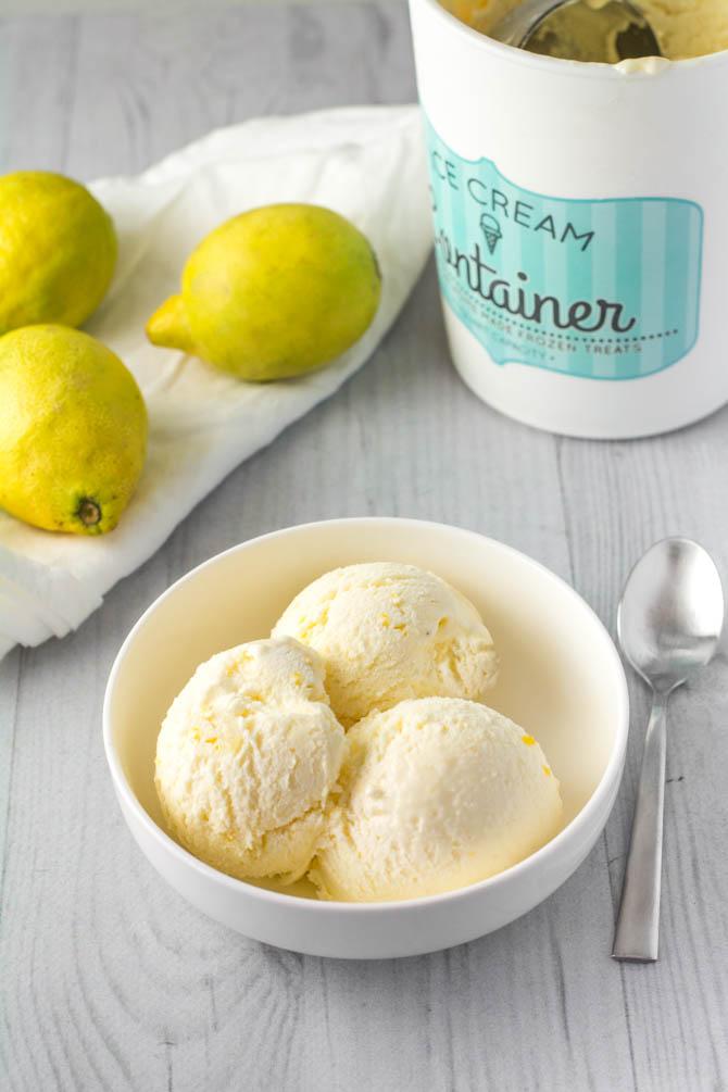 Lemon curd is opskrift fra Bageglad