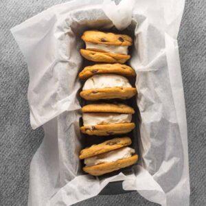 Is sandwich opskrift med hjemmelavede cookies