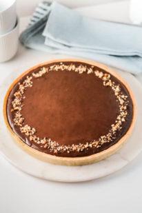 Chokoladetærte opskrift fra Bageglad