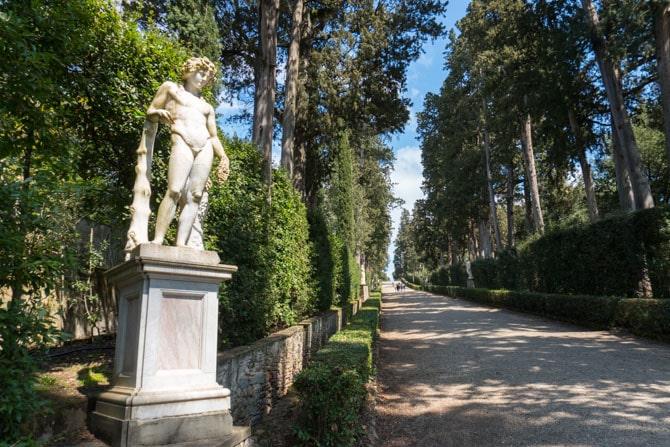 Boboli Gardens i Firenze