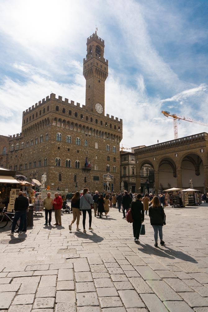 Piazza della Signoria i Firenze