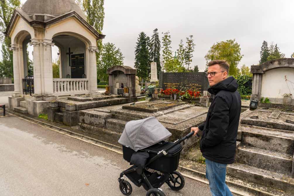 Mirogoj kirkegård Zagreb