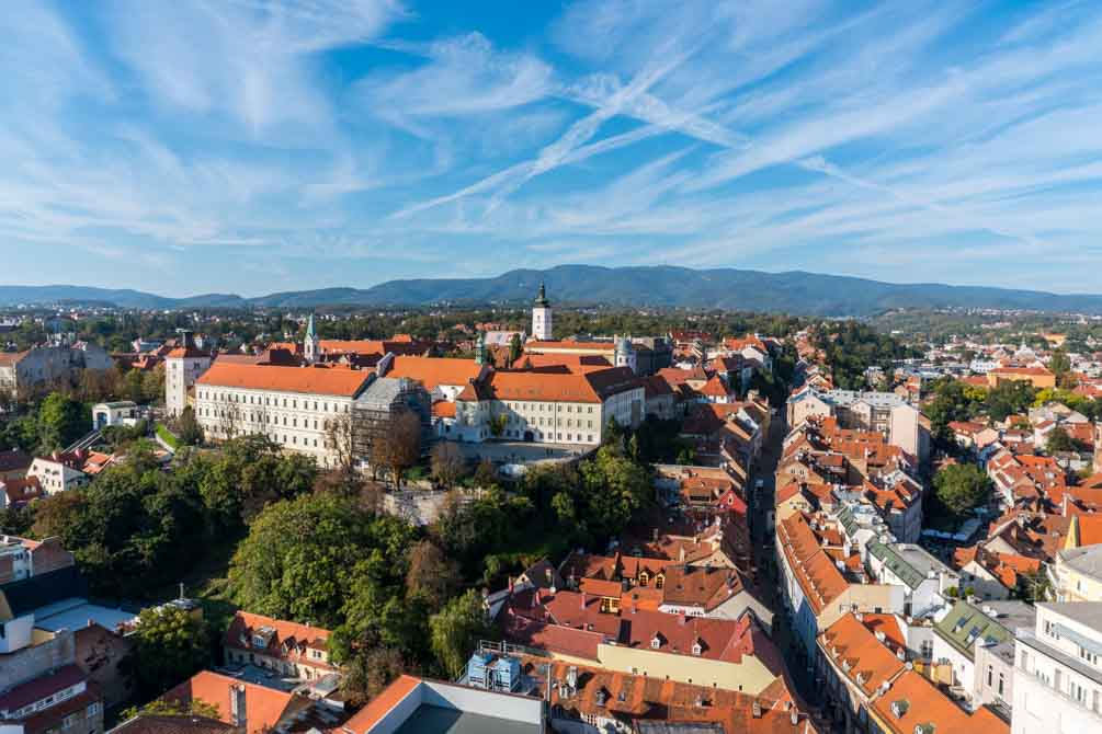 Zagreb 360 udsigt