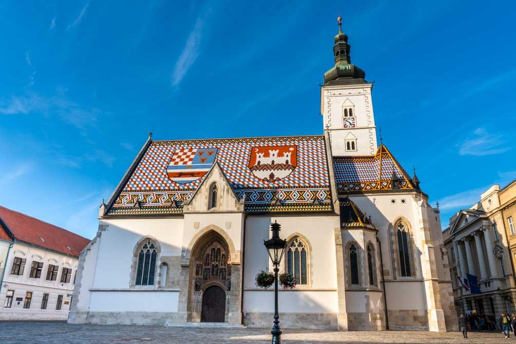 Zagreb kirke ikon