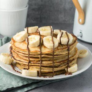 Glutenfri og sukkerfri bananpandekager