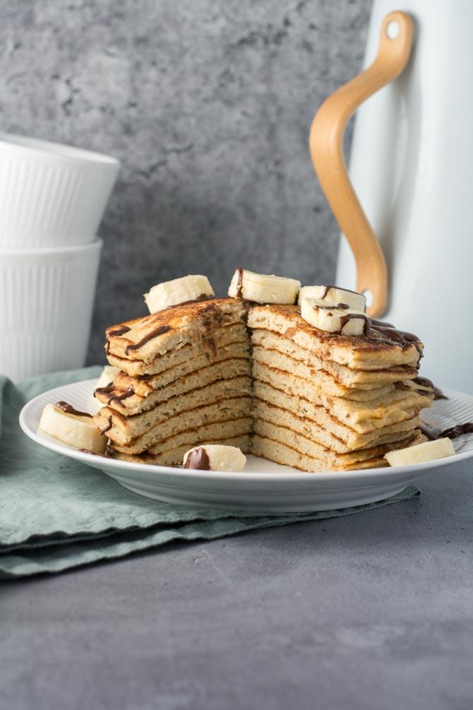 Sukkerfri og glutenfri amerikanske pandekager