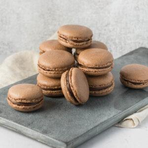 Chokolade macarons opskrift fra Bageglad