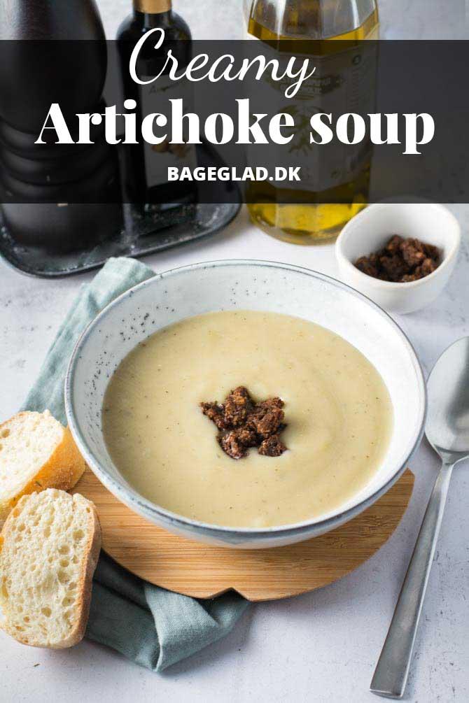 Creamy artichoke soup recipe