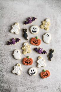 Halloween småkager